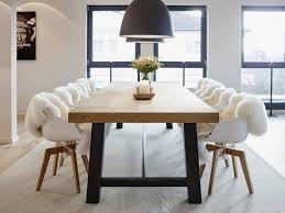 Penthouse Esszimmer Von Honeyandspice Innenarchitektur