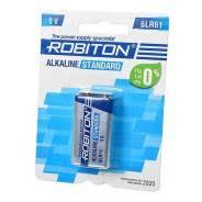 <b>Батарейка Robiton Standart крона</b> 6LR61 /10 шт - Прочая ...