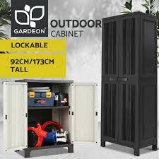 gardeon outdoor storage cabinet garage