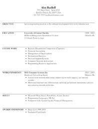 Intern Resume Example Intern Resume Samples Internship Resume ...