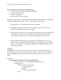 Anti Terrorism Thesis Statement Resume How Tote Strong Examples Good