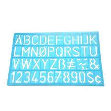 Templates Alphabet Letters Hot Deal 4pcs Set Multifunctional Numbers Letters Alphabet