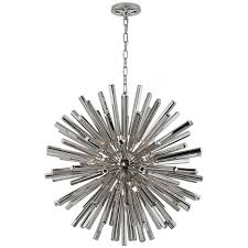 lawrence medium sputnik chandelier in polished n