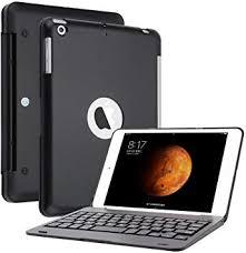 KVAGO Ultra Slim Portable <b>Wireless</b> Bluetooth Clamshell <b>Keyboard</b> ...