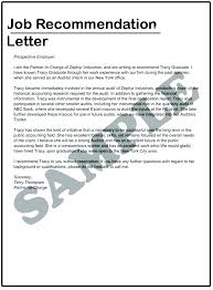 Job Reference Letter Template Retail Format Recommendation