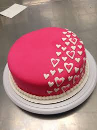 How To Put Fondant Icing On A Heart Shaped Cake