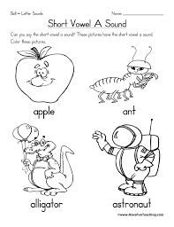 Vowel Worksheets   Page 4 of 6   Have Fun Teaching