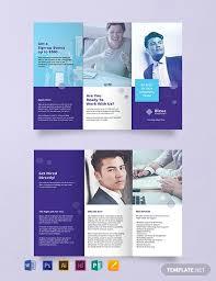 Recruitment Brochure Template Free Recruitment Brochure Template Word Psd Indesign