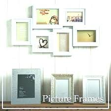 frames for wall art multi frame picture metal black