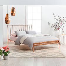 Copper Dreams! Featuring: 'Coppa' Queen Bed Frame with Electro-Played Copper