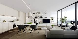 Apartments Interior With Inspiration Ideas