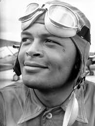 tuskegee airmen u s military s first black pilots com major george spencer roberts in training for us army air corps 99th pursuit squadron