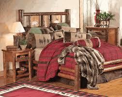 Log Bedroom Furniture Pine Crest Bear Log Bedroom Furniture Collection