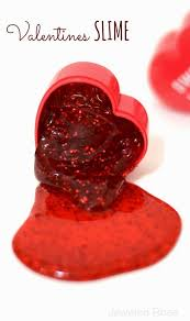 valentine s slime