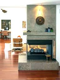 double sided fireplace insert two three wood burning stove