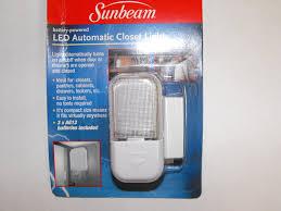closet lighting led. Sunbeam LED Automatic Closet Light - Led Household Bulbs Amazon.com Lighting G