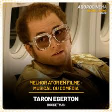 AdoroCinema - Taron Egerton acertou em cheio com Rocketman... | Facebook
