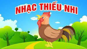 NHẠC THIẾU NHI ĐÀN GÀ CON ♫ Đi lang thang trong sân có con gà có con gà ♫