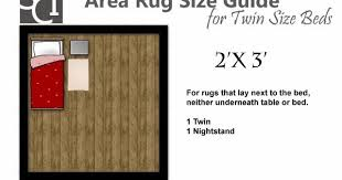 sugar cube interior basics area rug size guides for twin and queen size beds