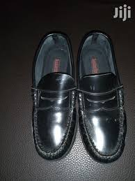 black leather loafers for boys
