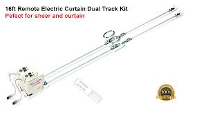 201 remote control electric double curtain rods cl200t5m dual