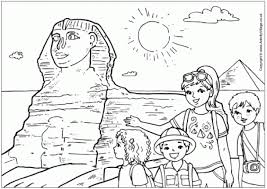 Small Picture Ancient Egypt Colouring Pages inside Egypt Coloring Page aecost