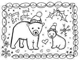 Printable Childrens Christmas Cards To Color Christmas Printables