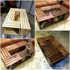 wine crate furniture best wine crate coffee table ideas on wooden wine box furniture