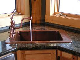 hand made custom copper kitchen sink