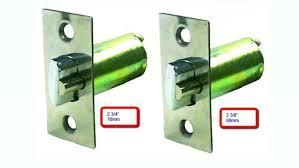 Door Knobs 2 inch backset door knobs pictures : DeadLatch Replacement For Knob & Lever Door Lock (2 3/4