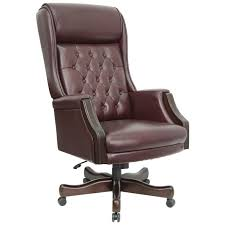 furniture office terrific brown leather executive office chair stylish chairs for office