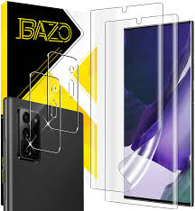 BAZO 2 Pack TPU Soft Screen Protector + 2 Pack ... - Amazon.com