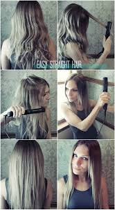 Hair Style For Straight Hair easy straight hairstyles for girls how to straighten hair 5330 by wearticles.com