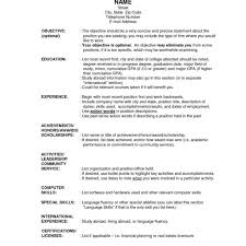 Resume Outlines Download Resume Outlines Haadyaooverbayresort inside Resume 1