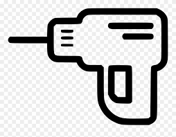 Drill Machine Svg Png Icon Free Download Stock Illustration