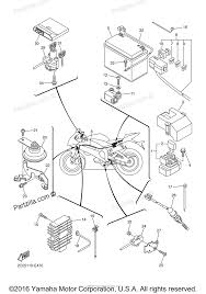 Yamaha motorcycle 2007 oem parts diagram for electrical 2 partzilla