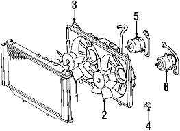 parts com® lexus gs300 cooling fan oem parts 2001 lexus gs300 base l6 3 0 liter gas cooling fan