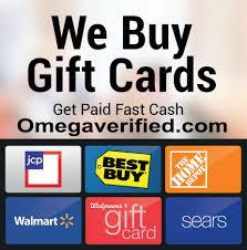 sell vanilla mastercard visa gift cards