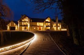 luxury home lighting. interesting home tanglewood colston bassett luxury home at dusk by guy phoenix in luxury home lighting b