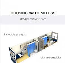 Small Picture MicroPAD Tiny Mobile Units Aim to End Homelessness in San