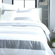 blue and white duvet cover double striped king pinstripe comforter set garment dyed awesome grey intended