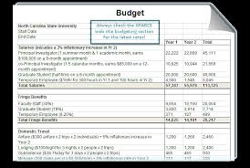 software development project budget template proposal budgeting office of contracts and grants