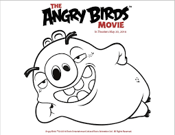 Small Picture Free Printable Coloring Pages from The Angry Birds Movie Twin