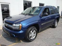 2004 Indigo Blue Metallic Chevrolet TrailBlazer LS 4x4 #14209099 ...