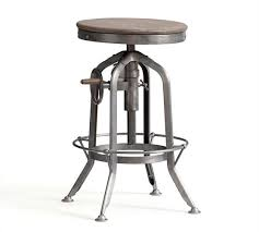 Pittsburgh Adjustable Height Barstool