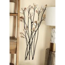 Assorted Twig Shape Metal Wall Decor (Set of 3) - Free Shipping Today -  Overstock.com - 15876937