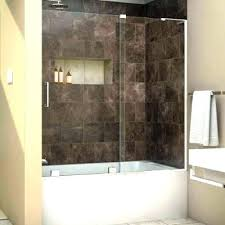glass shower wall panels showers doors at the home depot walls bathtub cost tempered custom and half glass shower wall