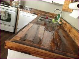 wooden kitchen countertops diy