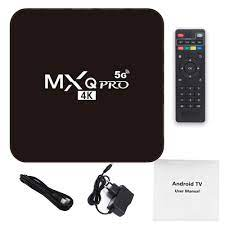 MXQ PRO 4K 5G TV BOX Android 9.0 4K HDR Ultra-HD Video 2.4G 5G WiFi 4GB RAM  64GB ROM HDMI SD Card Sale, Price & Reviews