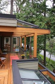 vancouver roof deck design contemporary with outdoor cushion fencing and gates glass railing